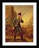 Soldier of the Belgian Revolution in 1830 by Belgian School