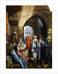 A Cairo Bazaar - The Della'l, 1875 by John Frederick Lewis