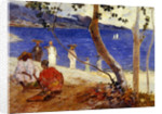 By the Sea, 1887 by Paul Gauguin