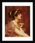 A Classical Beauty, 1892 by John William Godward