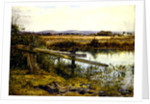 The Riverside, 1862 by John Edward Newton
