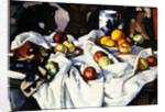 Still life of oranges and apples by Samuel John Peploe
