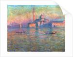 San Giorgio Maggiore, Venice, 1908 by Claude Monet