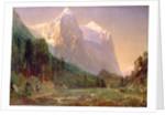 Sunrise on the Wetterhorn, 1858 by Thomas Worthington Whittredge