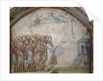 The Raising of Lazarus, Catacombs of Via Latina, Rome by Roman Roman