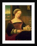 Mary Magdalene Reading by Master of Female Half Lengths