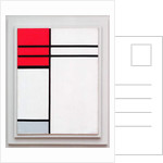 Composition in Red and White, 1936 by Piet Mondrian