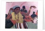 Black Dancer, 1909 by Ernst Ludwig Kirchner