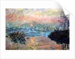 Sunset, 1880 by Claude Monet