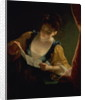 Young Woman Reading a Letter by Jean Raoux