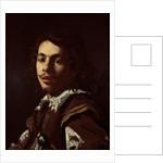 Self Portrait, 1620 by Simon Vouet