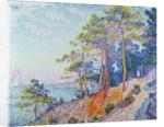 St. Tropez, the Custom's Path, 1905 by Paul Signac
