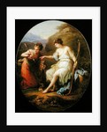 Diana preparing for Hunting by Angelica Kauffmann