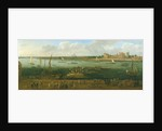 A Panoramic View of Lambeth Palace by Jan the Elder Griffier