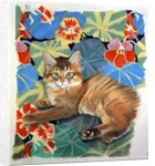 Sootsy and Dufy Fabric by Anne Robinson