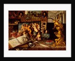 The Art Cabinet of Prince Royal Vladislav Sigismund Vasa, 1626 by Flemish School