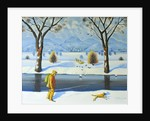 Winters Walk, 2005 by Radi Nedelchev