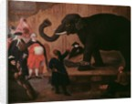 An Elephant Shown in Venice by Pietro Longhi