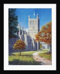 Exeter Cathedral - North Tower, 2003 by Anthony Rule