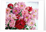 Red and Pink Roses by Christopher Ryland