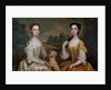 Portrait of Ann and Mary Tonson by Peter Vanderbank