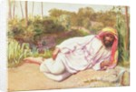 Arab Resting by a Stream, 1854 by William Holman Hunt