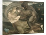 Cupid and Psyche by Edward Coley Burne-Jones