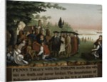 Penn's Treaty with the Indians, 1840-45 by Edward Hicks