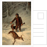 Captain Parker, Still Hunting in the Snow, 1881 by Arthur Fitzwilliam Tait