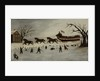 The Suffragettes Taking a Sleigh Ride, 1870-90 by American School
