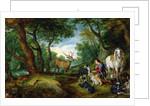 The Vision of St. Hubert, c.1620 by Jan & Rubens P.P. Brueghel