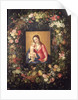 Garland of Fruit and Flowers with Virgin and Child by Jan the Elder Brueghel