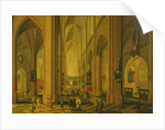 Interior of a Church at Antwerp, c.1660 by Pieter the Elder Neeffs