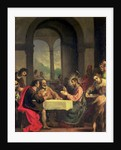 Supper at Emmaus, c.1600-05 by Alessandro Allori