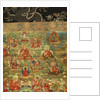 Detail of Third Panchen Lama Losan Penden Yeshe by School Tibetan