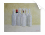 Wrapped Bottles, Number 2 by Lincoln Seligman