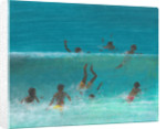 Children in the Surf by Lincoln Seligman