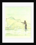 Lone Fisherman 2 by Lincoln Seligman