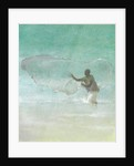 Lone Fisherman 5 by Lincoln Seligman
