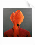 Orange Turban by Lincoln Seligman