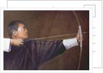 Archer, Bhutan by Lincoln Seligman