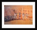 Village Scene, Jaipor by Lincoln Seligman