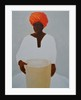 Drummer, Red Turban by Lincoln Seligman