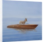 Donkey in a Riva by Lincoln Seligman