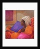 Dorcas reading by Lincoln Seligman
