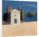 Chapel near Pienza II by Lincoln Seligman