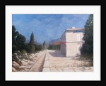 Rail station, Châteauneuf by Lincoln Seligman