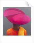 Magenta Hat, Saffron Jacket by Lincoln Seligman