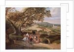 A Pastoral Landscape, 1684 by Jan Siberechts