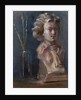 Bust of Beethoven with Paint Brushes by Gail Schulman